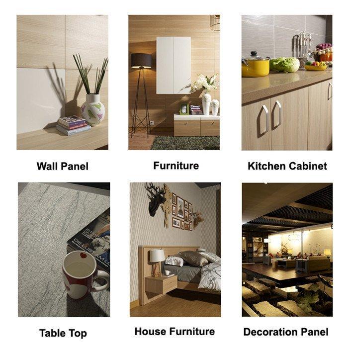 I.DECOR Decorative Material Brand id1012 oak paper decorative printing paper id7023