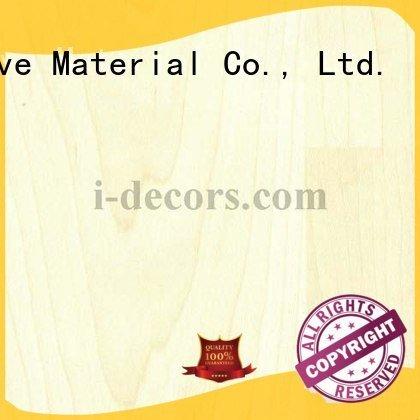 OEM wood grain paper 40609 maple PU coated paper