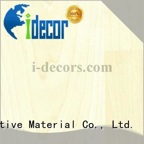 PU coated paper maple grain I.DECOR Decorative Material Brand