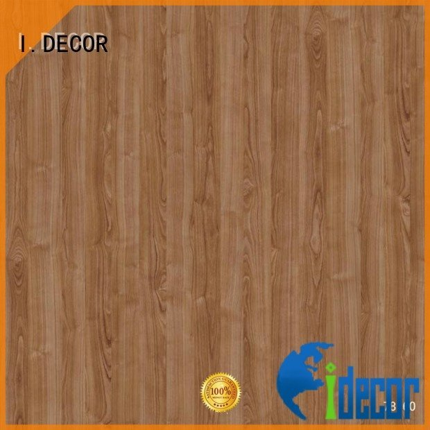I.DECOR wall decoration with paper line oak melamine