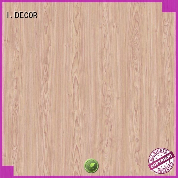 wall decoration with paper 7ft decor paper teak I.DECOR