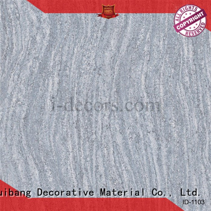 Hot original design id1103 id1206 imported I.DECOR Decorative Material Brand