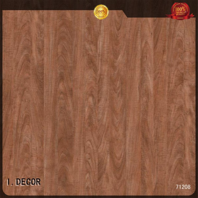 wall decoration with paper oak teak OEM decor paper I.DECOR