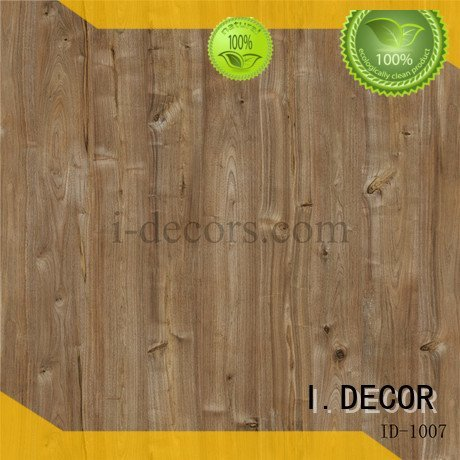 I.DECOR decorative paper sheets imported feet paper walnut