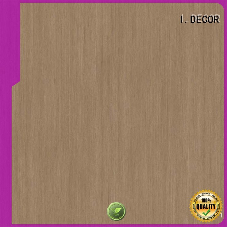 I.DECOR wall decoration with paper line idecor teak