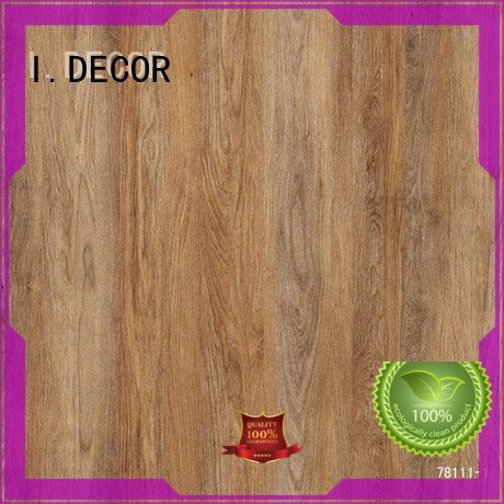 wall decoration with paper 7ft oak decor paper I.DECOR Warranty