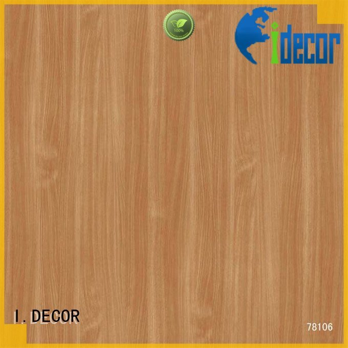 Custom idecor decor paper oak wall decoration with paper