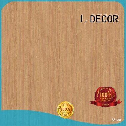 printing teak decor paper line I.DECOR