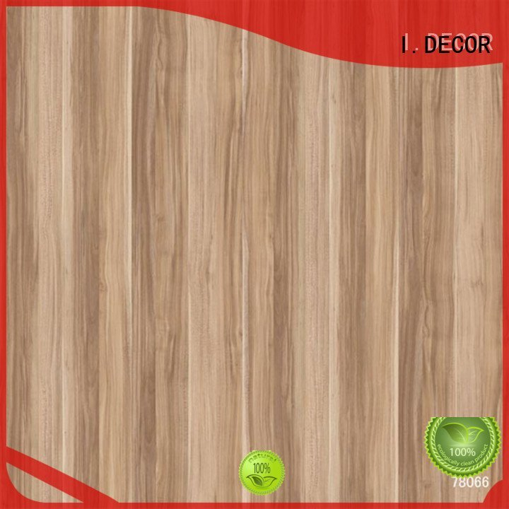 wall decoration with paper printing walnut OEM decor paper I.DECOR