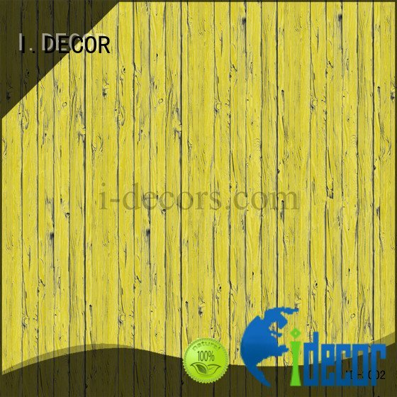 panel melamine textile I.DECOR walnut melamine