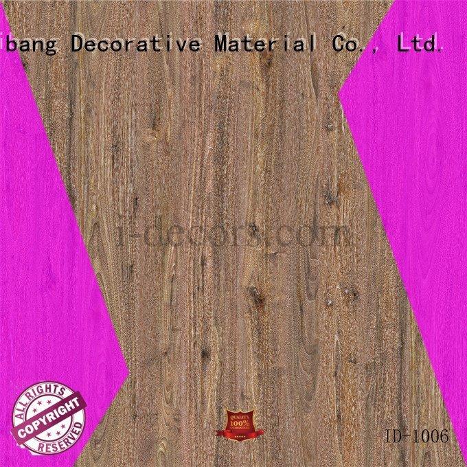 I.DECOR Decorative Material Brand id1105 id1006 laminate melamine decor oak