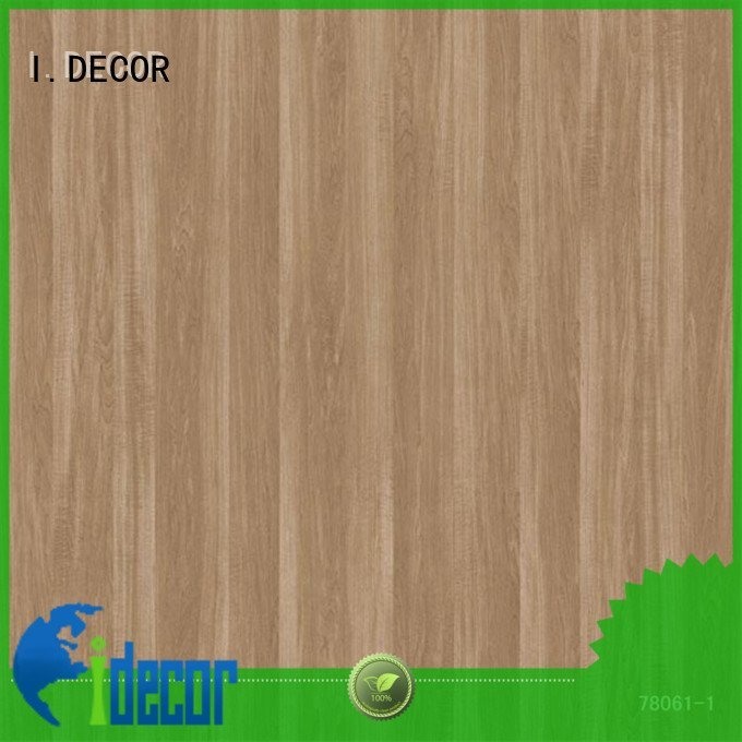 7ft walnut cherry fantasy I.DECOR wall decoration with paper