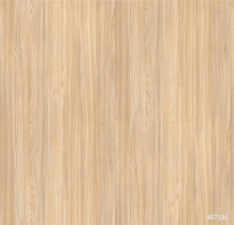 407136  Kastanie Oak wood grain paper looks like real veneer