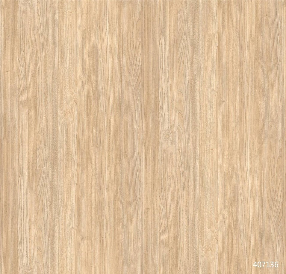 407136  Kastanie Oak wood grain paper looks like real veneer