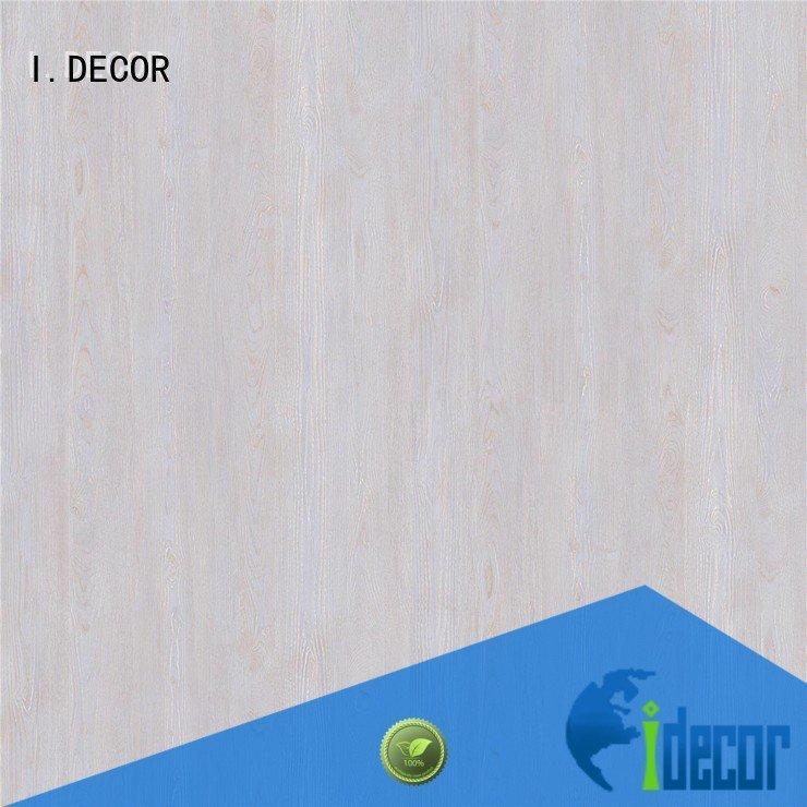 resin impregnated paper bay I.DECOR Brand PU coated paper