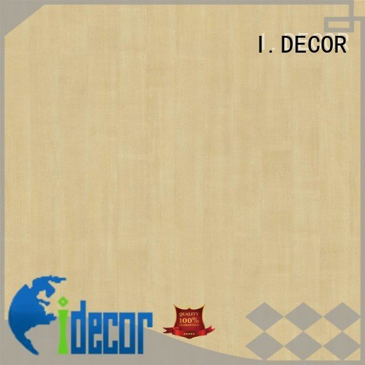 Quality resin impregnated paper I.DECOR Brand id1106 PU coated paper