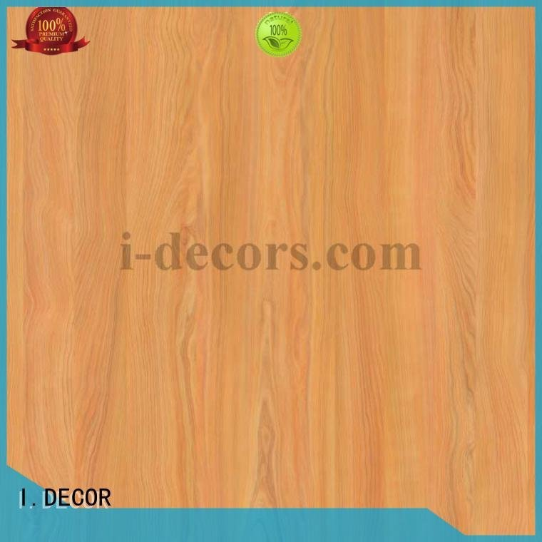 Custom melamine impregnated paper zebra pear 4ft I.DECOR