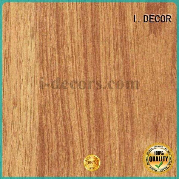 teak decorative grain furniture laminate sheets I.DECOR manufacture