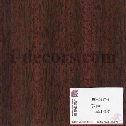 Wood Grain Finish Foil