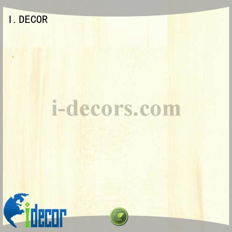 I.DECOR 40604 decorative paper PU coated paper maple
