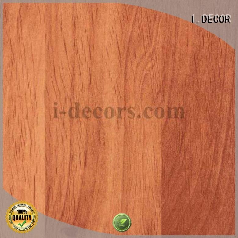 Hot furniture laminate sheets paper 40504 teak I.DECOR Brand