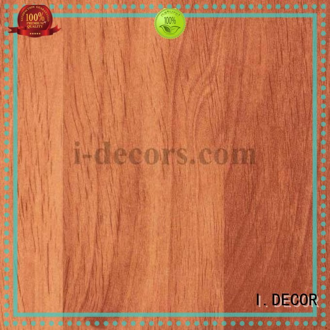 I.DECOR Brand decorative grain furniture laminate sheets teak