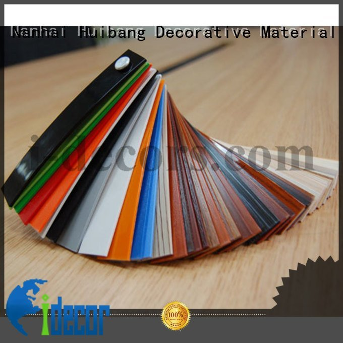 edge furniture edge I.DECOR Decorative Material PVC edge banding