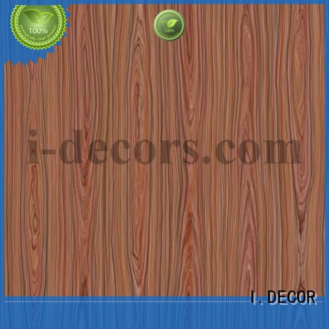I.DECOR Brand grain fancy design decorative custom melamine sheets suppliers
