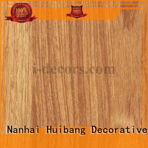 I.DECOR Decorative Material paper teak melamine sale 40501 grain