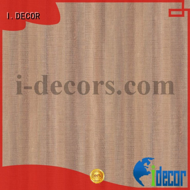 Quality brown craft paper I.DECOR Brand particleboard melamine decorative paper