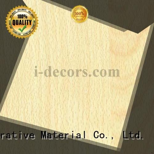 wood laminate sheets beech grain wood foil paper I.DECOR Decorative Material Brand