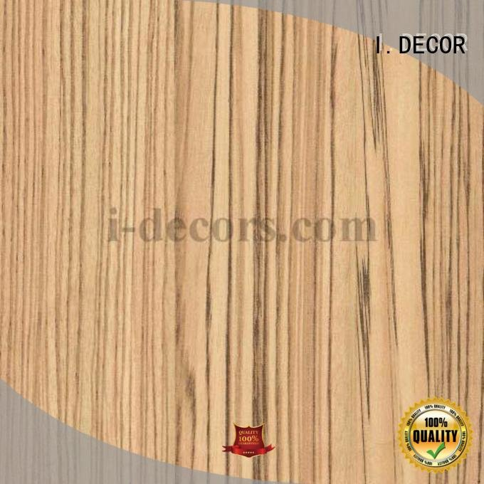 Custom melamine impregnated paper pear wood chestnut I.DECOR