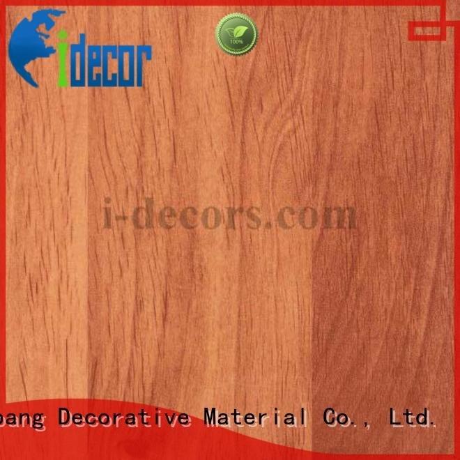 I.DECOR Decorative Material melamine sale 40504 40502 grain 40501