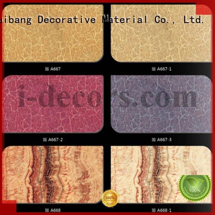 wood a994 a772 finish foil paper I.DECOR Decorative Material