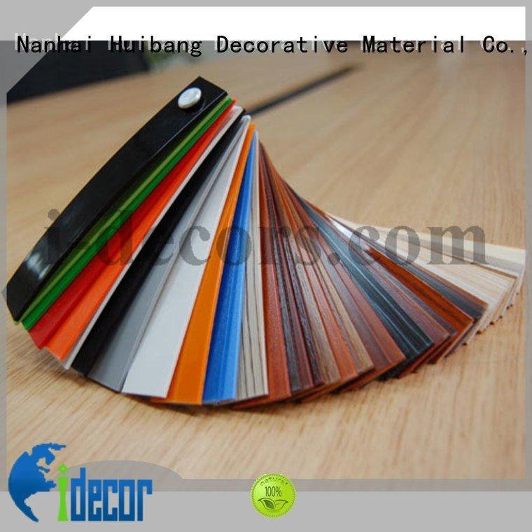 I.DECOR Decorative Material idecor furniture edge edge customized