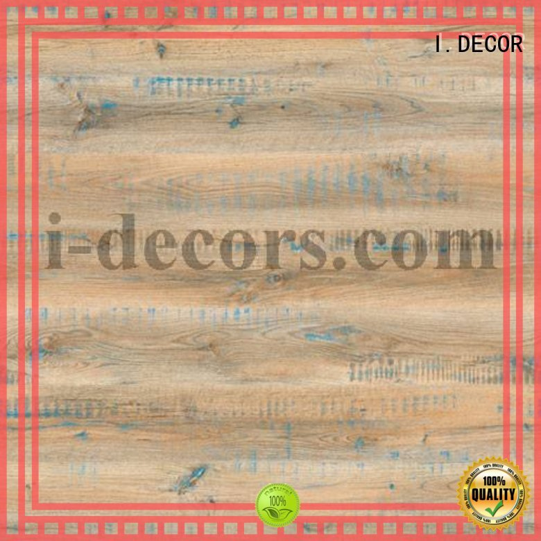 laminated mdf faced melamine decorative paper I.DECOR Brand