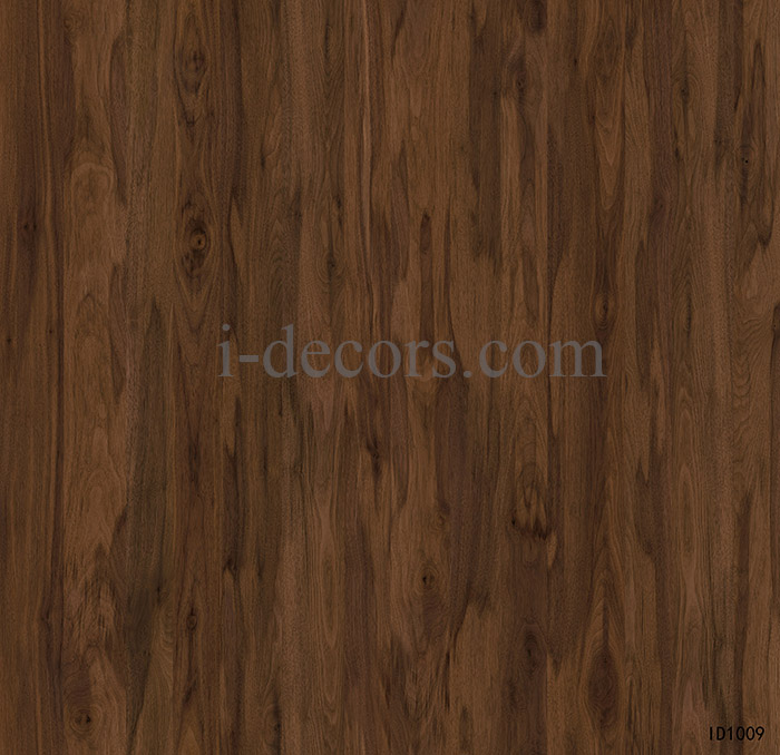 ID1009 walnut decor paper 4 feet with imported ink