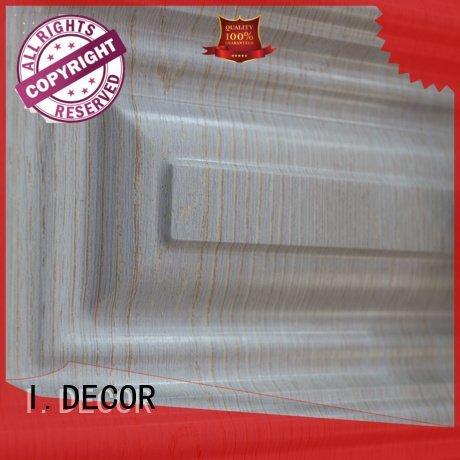 pvc film finish foil finish foil wood grain pvc film I.DECOR