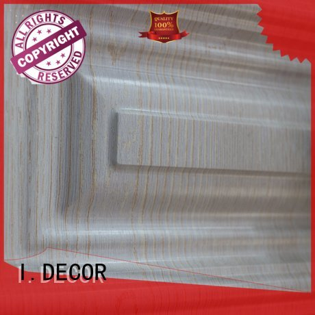 pvc film finish foil finish foil wood grain pvc film I.DECOR