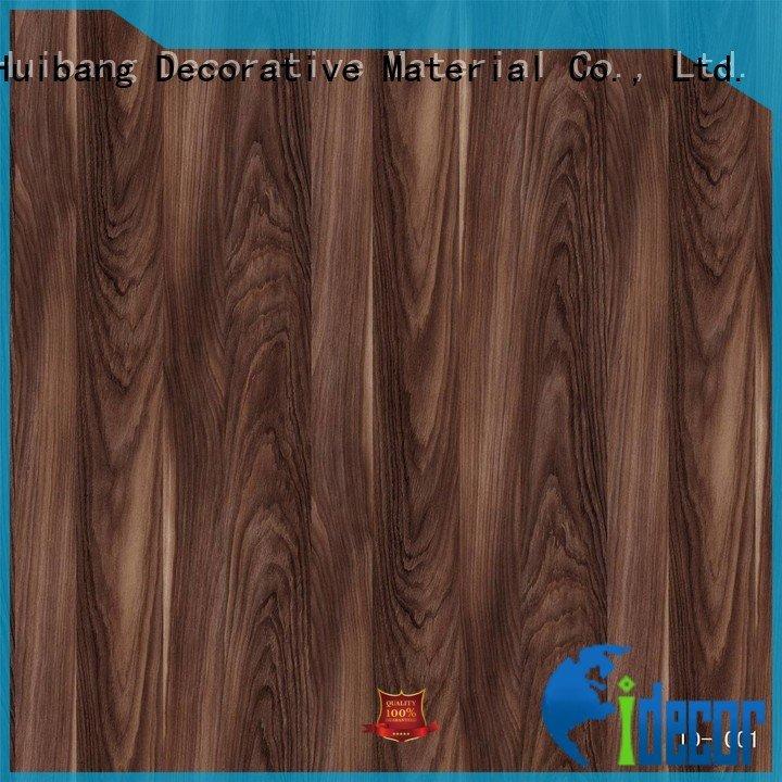I.DECOR Decorative Material Brand id1001 walnut quality printing paper feet feet