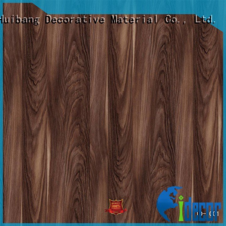 I.DECOR Decorative Material Brand id1001 walnut quality printing paper feet feet